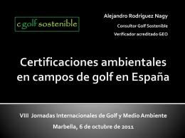 Certificaciones ambientales en la industria del