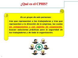 Sin título de diapositiva - Prevención de Riesgos