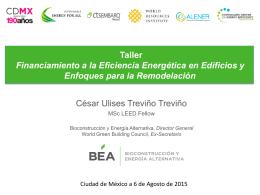 Bioconstrucción y Energía Alternativa