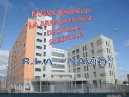 NUEVA RESIDENCIA DE LA ARMADA EN MADRID