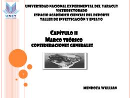 Marco metodológico - Investigación y Ensayo