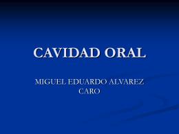 CAVIDAD ORAL - Futura Médica