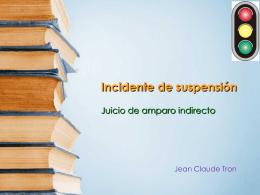 Incidente Suspensión - Bienvenido a la página de