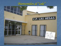 """Bienvenidos al """"cole"""""""
