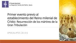 Resurrección de los mártires de la Gran
