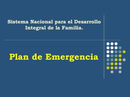 Presentación Del Programa Nacional De Atención A