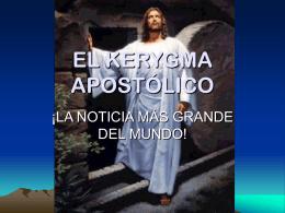 EL KERYGMA APOSTÓLICO