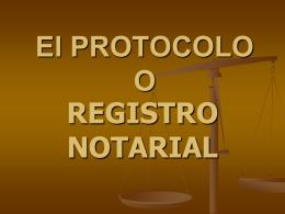 El PROTOCOLO - USAC PRIVADO