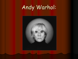 Andy Warhol: - INTEF