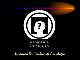 La Personalidad - Instituto Dr. Pacheco de