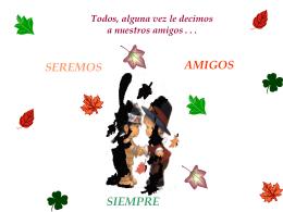 Reflexiones `Amigos Siempre`