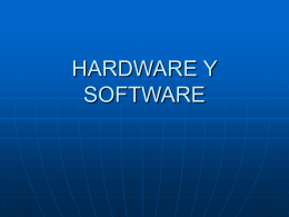 HARDWARE Y SOFTWARE - Instituto de Enseñanza