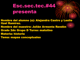Esc.sec.tec.#44 presenta