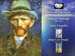 Van Gogh - Página personal de MVC