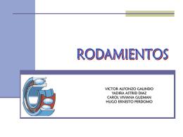 RODAMIENTOS - Inicio - Rodamientos Rodalin