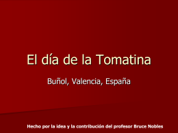 El día de la tomatina - riosedtechnology.com