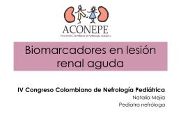 Biomarcadores en falla renal aguda