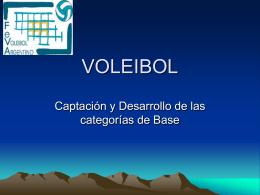 VOLEIBOL - FeVA - Federación del Voleibol