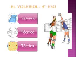 El Voleibol: 4º ESO