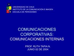 COMUNICACIONES CORPORATIVAS: COMO REALIZAR UN