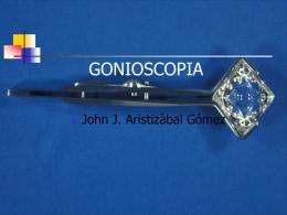 Gonioscopia - Inicio