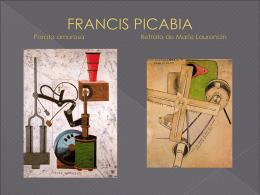 FRANCIS PICABIA Parata amorosa Retrato de Maríe