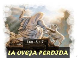 LA OVEJA PERDIDA - Manteniendo la fe | 1 Timoteo