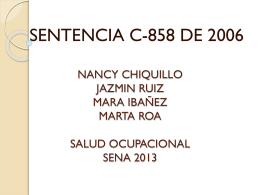NANCY CHIQUILLO JAZMIN RUIZ MARA IBAÑEZ MARTA ROA