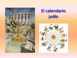 El calendario judío - A.C. Sefarad Aragón