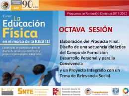 OCTAVA SESIÓN - Formacioncontinuaedomex`s Blog