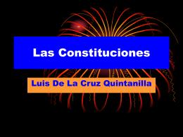 Las Constituciones
