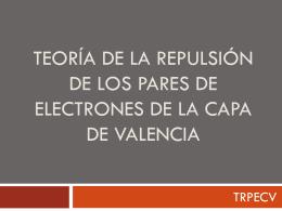 Teoría de la repulsión de los pares de electrones