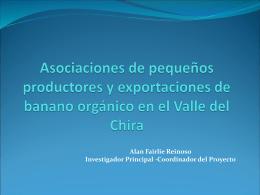 Asociaciones de pequeños productores y