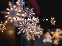 Agenda de Diciembre