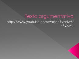 Texto argumentativo - Nivelación de Estudios CREA