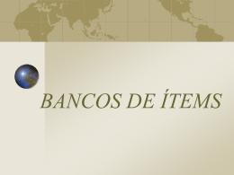 BANCOS DE ÍTEMS - GrupoInnoevalua : Inicio