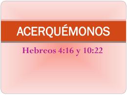 ACERQUÉMONOS