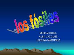 LOS FOSILES - Bioloxía e Xeoloxía 4º ESO