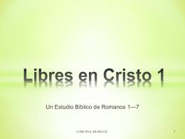Libres en Cristo 1