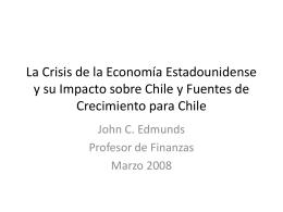 La Crisis de la Economía Estadounidense y su