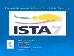 ISTA 7 Proceso de Hormonización de Crías de
