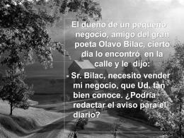 O Poeta - Lic. Gabriel Zelaya