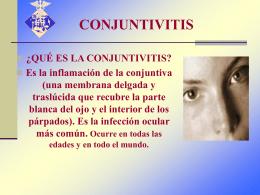 CONJUNTIVITIS - Seguridad e Higiene, Legislación