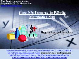 """Diapositiva 1 - Oliver clases """"Prepara La PSU"""