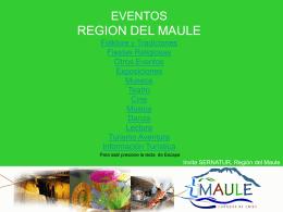 EVENTOS REGIONALES Folklore y Tradiciones Fiestas