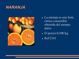 NARANJA - Valnaloneduca, Cadena de Formación de