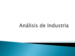 Análisis de Industria - utalwiki