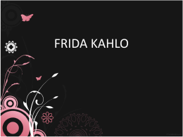 FRIDA KAHLO - Terapeutascr`s Blog | Just another