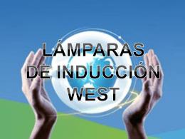 LÁMPARAS DE INDUCCIÓN WEST
