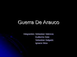 Guerra De Arauco - Patricio Alvarez Silva
